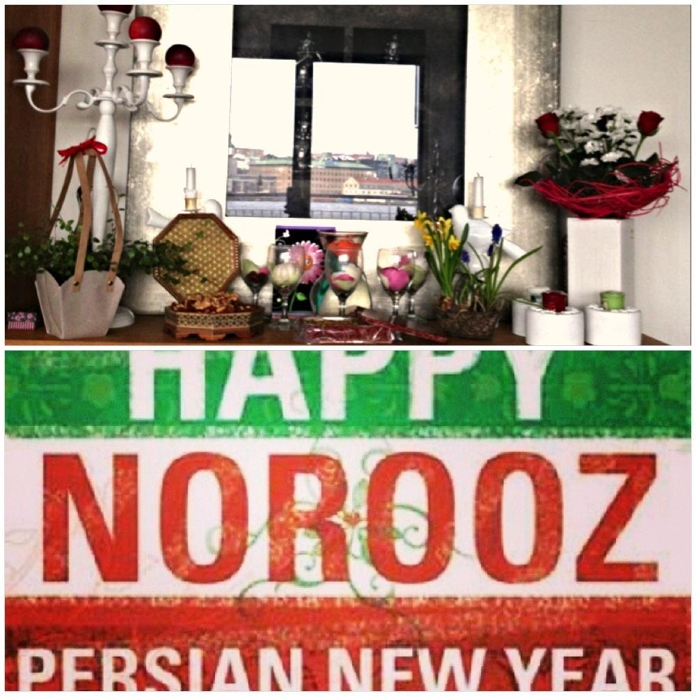 Fira pask med persisk nyarsmat